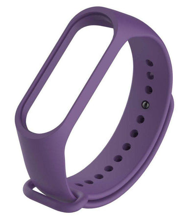Ratehalf® M3 Band Bluetooth 4.0 Sweatproof Smart and Sleek Fitness Wristband with Heart Rate Monitor Tracker Purple - halfrate.in