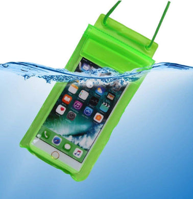 Triple sealed transparent plastic bag universal underwater waterproof dust proof touch sensitive pouch phone cover case for rain and water protection