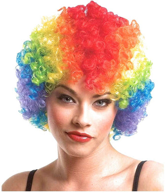 Multi Coloured Malinga Style Hair Cap Wig for All Age Group Free Size , Best for Holi and Stage Drama Show