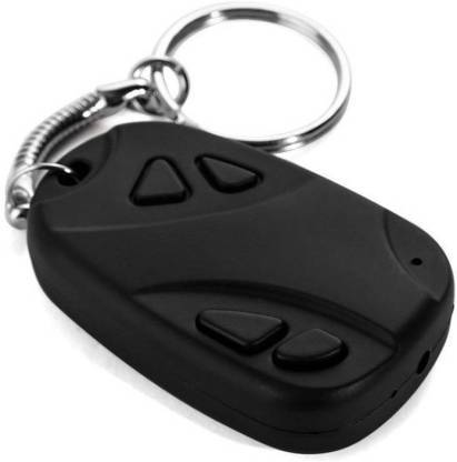CAR KEY CHAIN CAMERA USB VIDEO AUDIO VOICE RECORDER MINI DVR with CARD SLOT - halfrate.in