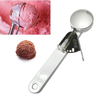 Stylish Ice Cream Scoop ABS - Press and Serve - halfrate.in