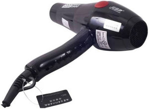 Ratehalf® 2000 Watts Professional style Hair Dryer (Black) - halfrate.in