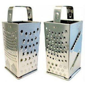 8 In 1 Grater Stainless Steel Four Sided Grater cum Slicer - halfrate.in