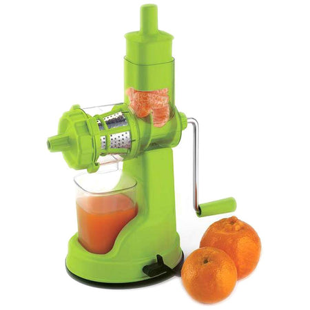 Fruit And Vegetable Heavy Duty Juicer, Mixer & Blenders With Steel Handle assorted color - halfrate.in