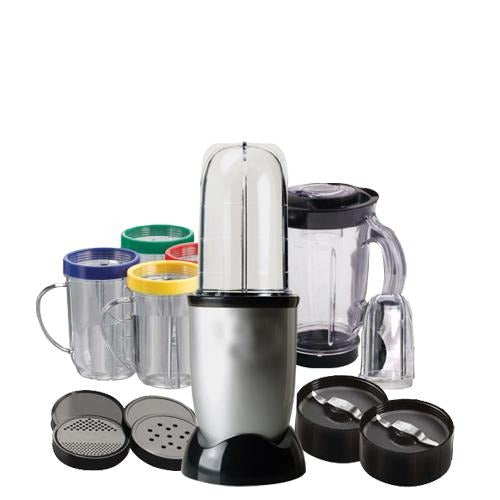 21 Piece Food processor Juicer Mixer Grinder with Bullet Jars - Makes Magic in your Kitchen - halfrate.in