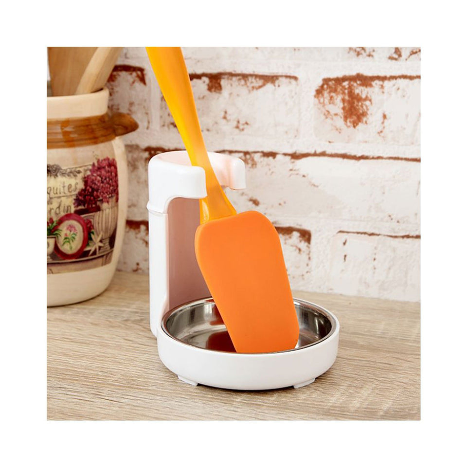 Useful Ladle Stand - Plastic and Stainless steel - halfrate.in