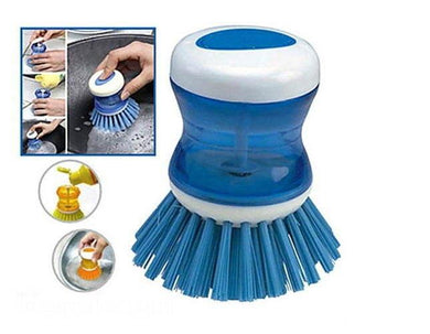 Cleaning Brush With Soap Dispensing For Sink, Dish Washing, Kitchen, home, Car - halfrate.in