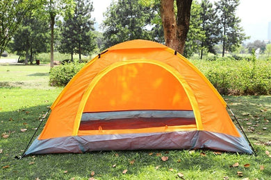 Outdoor Camping Tent Anti Ultraviolet  Portable Foldable Tent for Picnic/Hiking/Trekking Tent Dome Tent Travelling Tent Water Resistant Tent 4  Person - halfrate.in