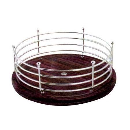 Kitchen organiser Round Revolving Medium Multipurpose Tray,  Revolving Rack, Space saver , Dining accessories - halfrate.in