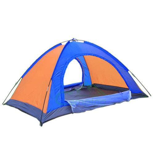 Outdoor Camping Tent Anti Ultraviolet  Portable Foldable Tent for Picnic/Hiking/Trekking Tent Dome Tent Travelling Tent Water Resistant Tent 6  Person - halfrate.in