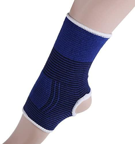 Ratehalf® Elastic Ankle Brace Support Band Pair Sport Gym Protects Therapy fitness accessories - halfrate.in