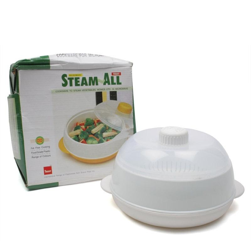 Trust Microwave Steam All - Steam Momos, vegetables, Corns - halfrate.in