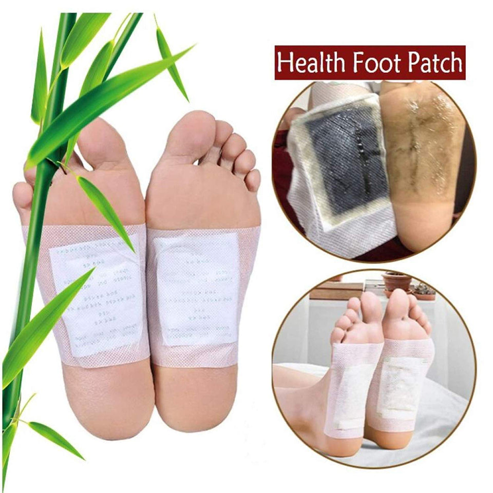 Kinoki Cleansing Detox Foot Patches 10 Adhesive Pads Kit Natural Unwanted Toxins Remover - halfrate.in