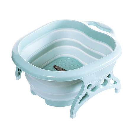 Foldable Foot Tub Massage Bucket With Massage Roller, Spa Basin, Soaking Feet Suitable For Home Spa Pedicure Relieve Stress - halfrate.in