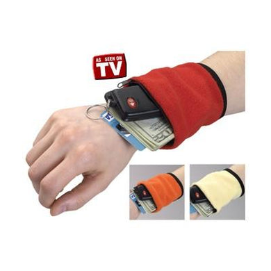 Wrist Wallet Travel Running Money Card Key Holder Pouch (Multicolor) - halfrate.in