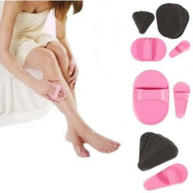 Painless and very Smooth Hair Removal flawless Facial and Body Hair Remover Pad - halfrate.in