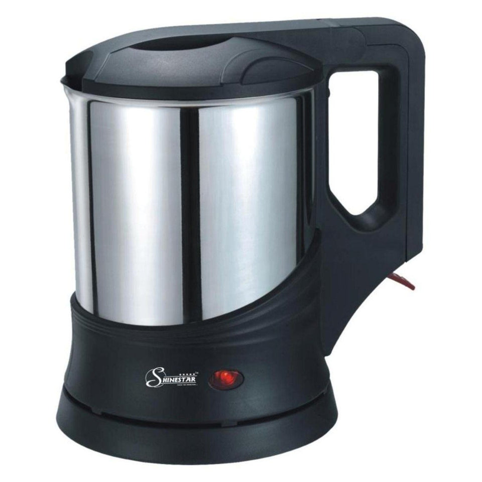 Stainless Steel Cordless Electric Kettle 1.2 Lts 1000 Watt Tea Maker and Water boiler - halfrate.in