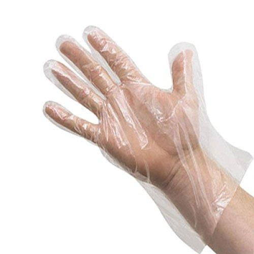 Disposable PVC Transparent Hand Gloves 100 pcs - halfrate.in