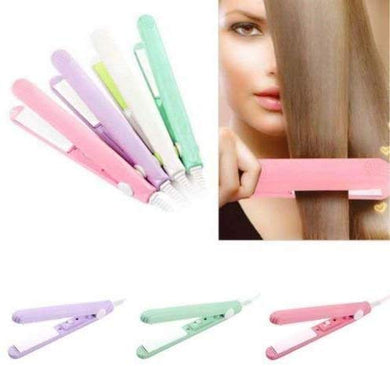 Women's Beauty Mini Professional Hair Straighteners Temperature Control Flat Iron - halfrate.in