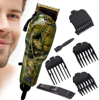 Electric Trimmer Shaver AC Powered Motor Professional Hair Clipper Beard Trimmer (0 m -12 mm) model- 1018