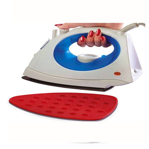 Silicon Mat for Hot Iron Rest - Heat Resistant, Anti - Slip, Thicker Pad, Non-Burning, Machine Washable, Durable - halfrate.in