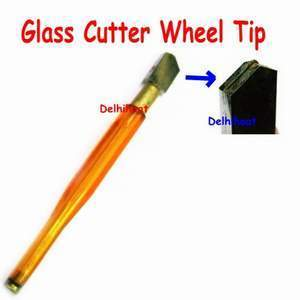 Saleshop365® Tube Handle Oil Feed Hand Carbide Wheel Glass Cutter - halfrate.in