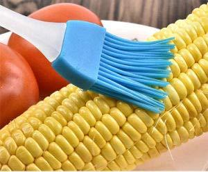 2 Pc SILICONE KITCHEN COOKING BASTING BRUSH FOR APPLYING BUTTER / OIL - halfrate.in