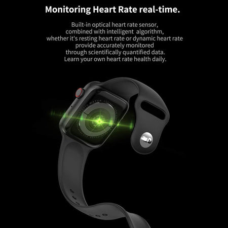 Smart Watch Bluetooth Phone Watch T500 Series 5 Bluetooth Call Smart Watch ECG Heart Rate Monitor Smartwatch for Android iOS