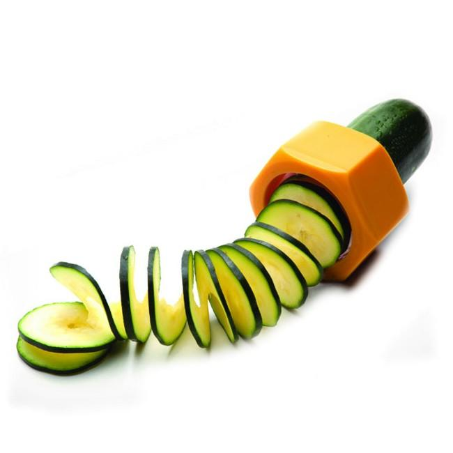 Cucumber Spiral Slicer Ideal for Cucumbers & Zucchini - halfrate.in