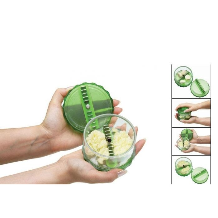 Garlic Pro No Touch Magic Garlic Dicer Nut Dicer Chopper Cutter with peeler - halfrate.in