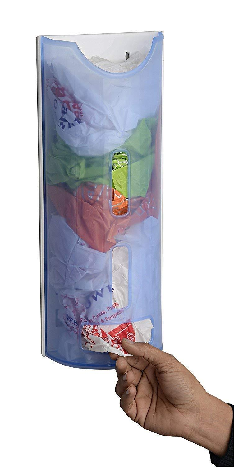Carry Bag Dispenser, Plastic Bag Holder | Grocery Bag Storage Box | Disposable Bag Dispenser | Polythene Bag Saver - halfrate.in