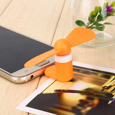 Mini Portable Electric Micro USB Port OTG USB Mobile Phone Fan for All Android Smartphones - halfrate.in