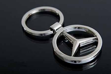 Mercedes Benz Heavy Metal Alloy Keychain - halfrate.in