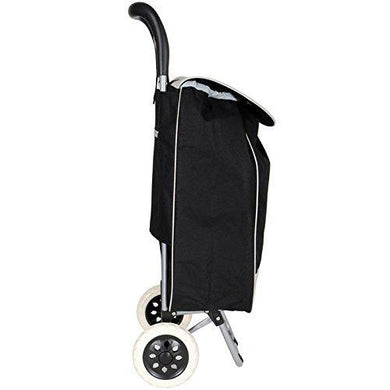 Foldable Shopping Trolley Bag/Shopping Vegetable Trolley Carry Bag | Grocery Shopping Bigger Wheel - halfrate.in