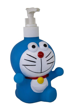 Doremon Cartoon Shaped Soap Dispenser Bottle Multicolour (Pack of 1) - halfrate.in