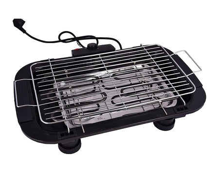 ELECTRIC BARBECUE BARBEQUE GRILL ROASTER - No more Smokey Cooking - halfrate.in