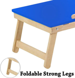 Foldable Multipurpose Wooden Laptop/Study/Bed Table for Home Office Furniture Work from home - halfrate.in
