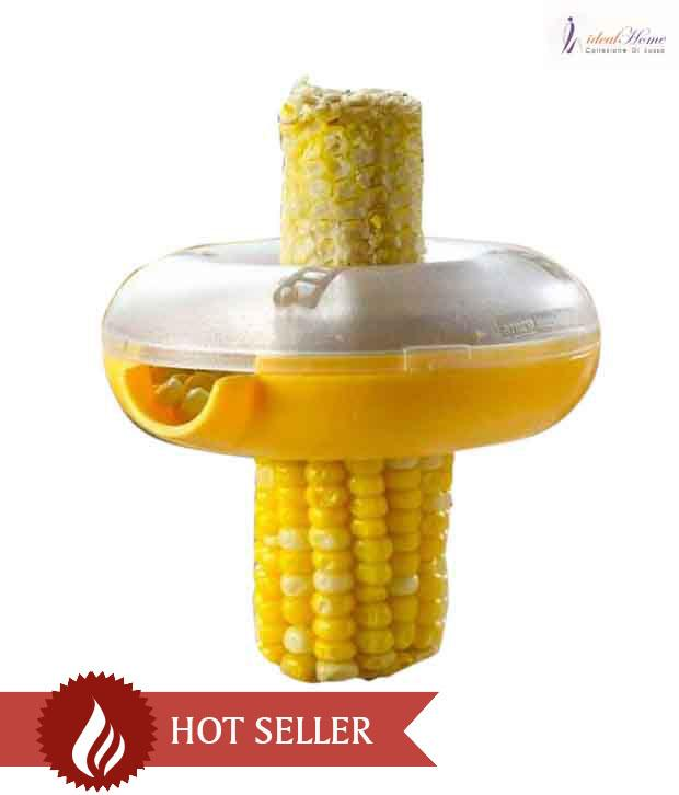 One-Step Corn Peeler Thresher Tool Kitchen Cob Kerneler Cutter Stripper Remover - halfrate.in