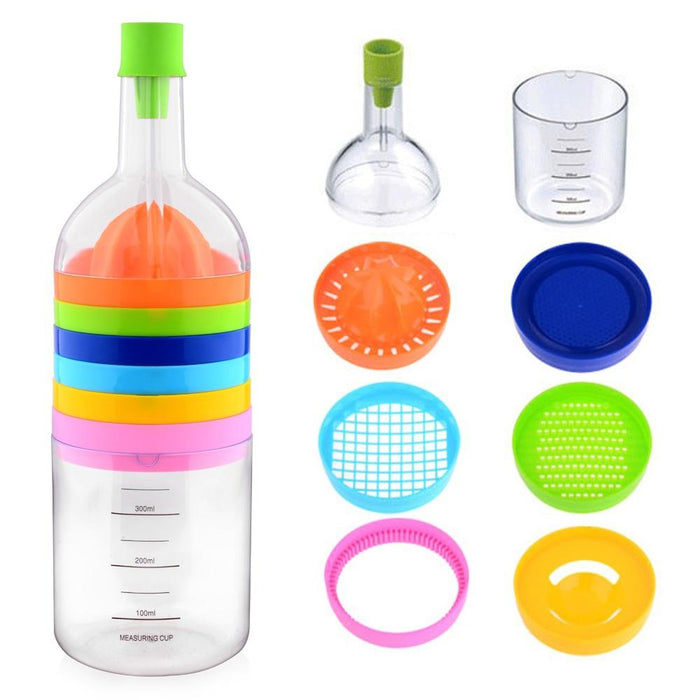 Bin 8 Tools Kitchen Tool like bottle - Multipurpose Kitchen Tool - halfrate.in