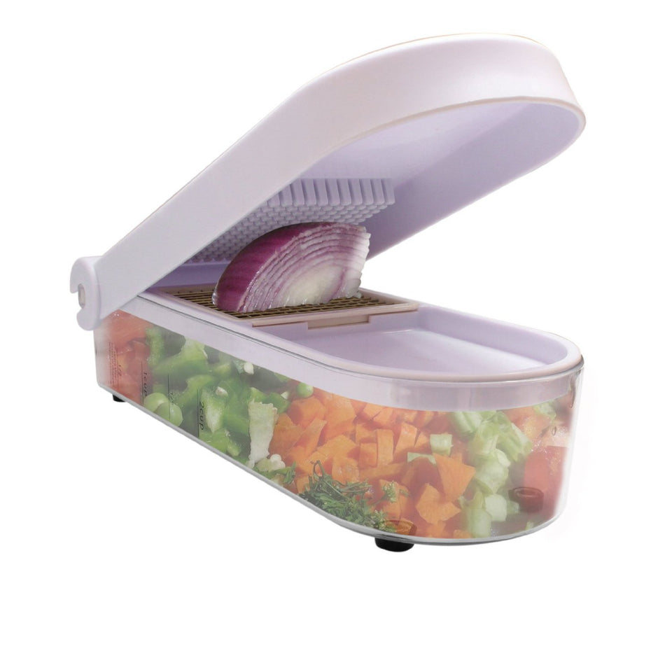 2 in 1 Vegetable & Fruit Chopper - halfrate.in