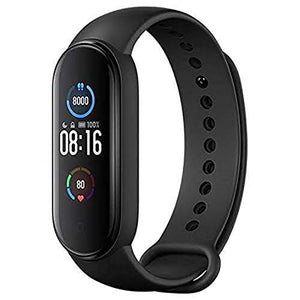 M5 Smart Watch Band Fitness Heart Rate with Activity Tracker WaterproofLike Steps Counter, Calorie Counter, BP, & OLED Touchscreen