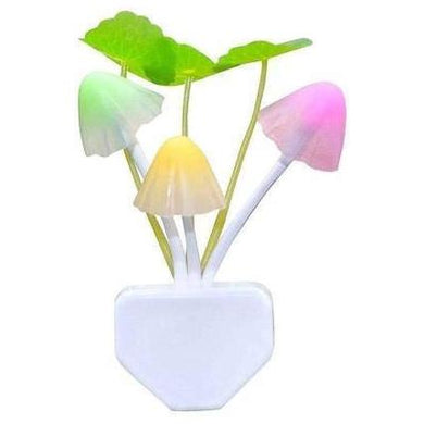 Automatic Night Sensor Mushroom Lamp night light - halfrate.in