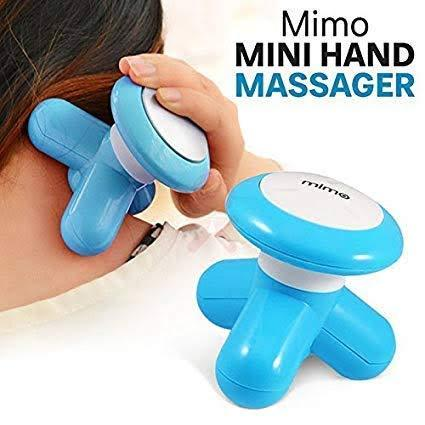 Ratehalf® MINI MIMO MASSAGER WITH USB FULL BODY Powerful Full Body face Head Massager - halfrate.in