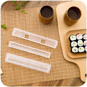 Sushi Roll Rice Maker Mould Roller Mold DIY Non-stick Easy Chef Kitchen - halfrate.in