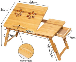 etable, laptop table, bed table, halfrate