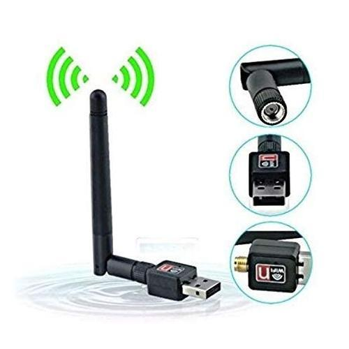 Ekdant® 600Mbps USB Wifi Dongle 600Mbps Wireless Adapter 802.11N/G/B With Antenna - halfrate.in