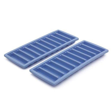 JVS Slim Narrow Long Ice Sticks Cube Maker Tray Mold with Easy Push Pop Up Perfect for Water Bottle (Pack of 2) - halfrate.in