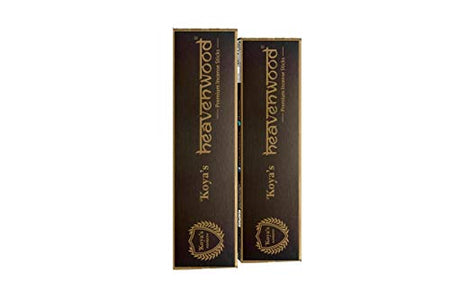 Koya's Bamboo Incense Sticks (Brown)  Pack of 5