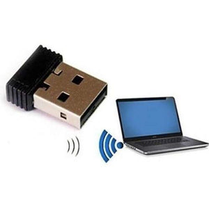 Ekdant® Wi-Fi Receiver 300Mbps, 2.4Ghz, 802.11B/G/N USB 2.0 Wireless Wi-Fi Network Adapter - halfrate.in