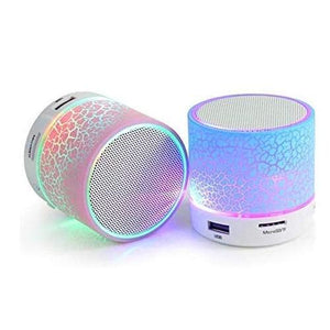 Ekdant® S10 Mini Wireless Portable Plastic Bluetooth Speakers with TF Card Hi-fi MP3 Music Player Subwoofer Home Audio for All Android and Apple Devices (Multicolour) - halfrate.in